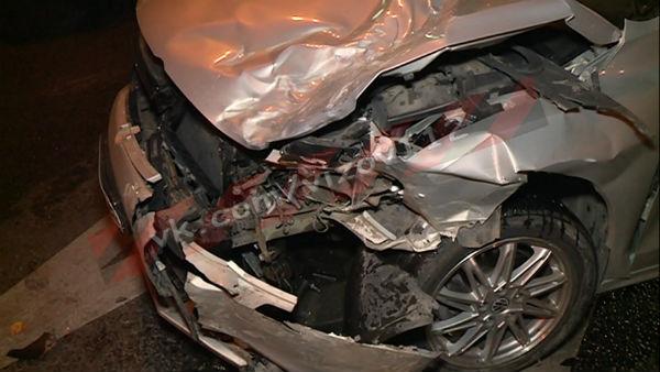 В Казани в крупном ДТП пострадали несколько авто (ФОТО)