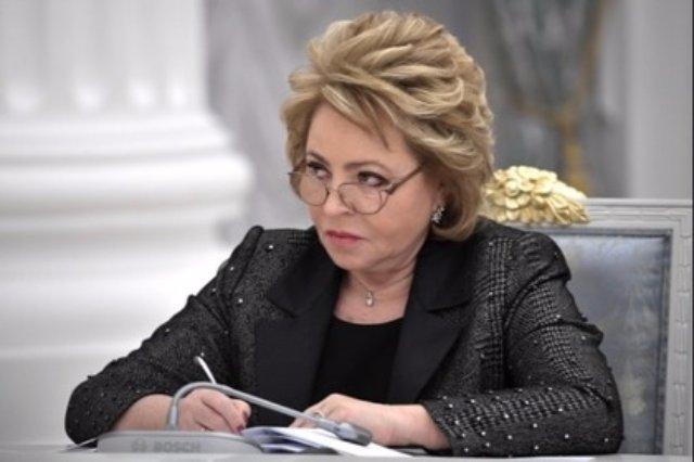 Матвиенко не нашла логики в размещении миротворцев на границе России и Украины