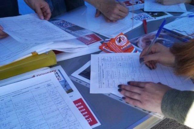В Омске прошел митинг в защиту животных