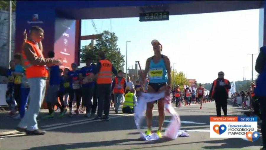 Якутянка Сардана Трофимова выиграла Московский марафон