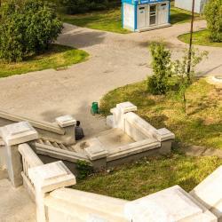 Ремонт лестницы в Ленинском саду обойдется в 29 млн рублей