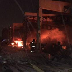 Завершено следствие по пожару на производственной базе в Татарстане, где погибли пять человек