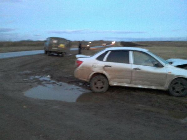 В Татарстане в жуткой аварии пострадали три человека (ФОТО)