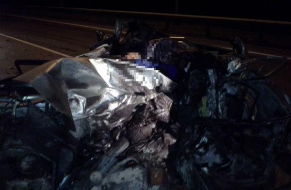 В страшной аварии в Татарстане погиб 26-летний водитель (ФОТО)