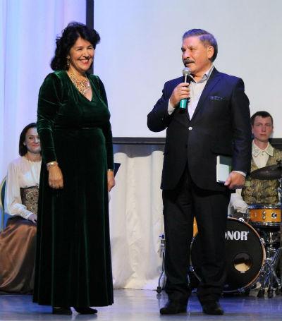 В Казани прошел юбилейный концерт Фанили Хабировой