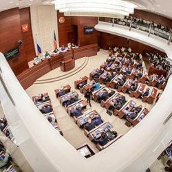 В Казани эвакуируют Госсовет РТ (ВИДЕО)