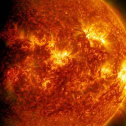 Вслед за осенними вспышками на Солнце могут прийти сильные морозы