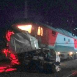При столкновении автобуса и поезда во Владимирской области погибли более 14 человек