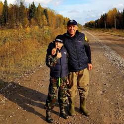 Рустам Минниханов вместе с сыном покатался на снегоболотоходе «Шерп» (ФОТО)