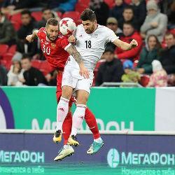 Сборная России в Казани сыграла вничью с командой Ирана