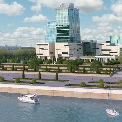 ТНВ получило «добро» на строительство медиакомплекса на берегу Казанки