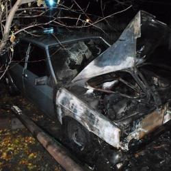 В Татарстане подожгли дом, машину, обгорел хозяин (ФОТО)