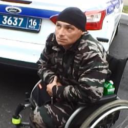 В Татарстане появилась «банда» инвалидов-колясочников, просящих милостыню на дорогах