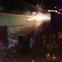 В Татарстане автобус с туристами вылетел в кювет, 8 человек пострадали (ФОТО)
