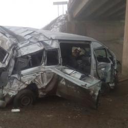 Микроавтобус из Татарстана с пассажирами вылетел с моста высотой в 9 метров в Башкирии (ФОТО)