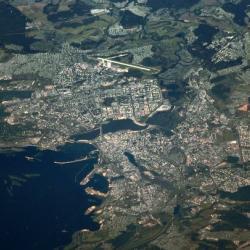 Российский космонавт опубликовал фотографию Казани с МКС