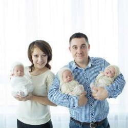 В Челнах родилась первая в этом году тройня
