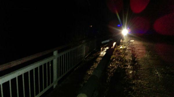 В Татарстане машина влетела в парапет моста (ФОТО)