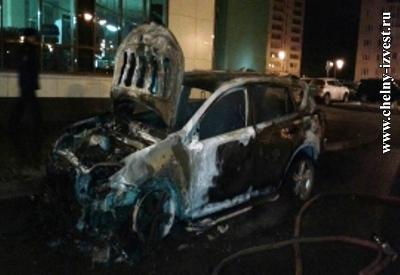 В Татарстане осудили инвалида первой группы, который поджег машину соседки (ФОТО)