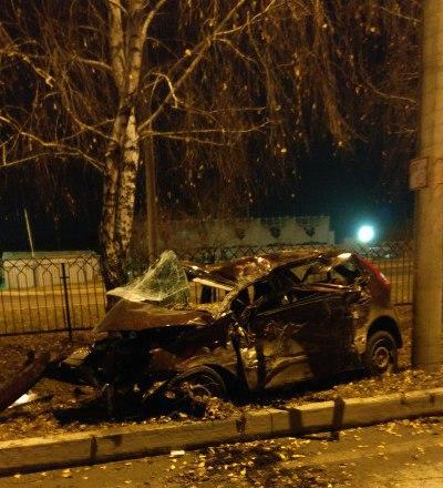 В жуткой аварии в Татарстане погиб водитель (ФОТО)