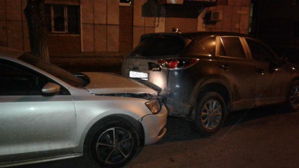 В Татарстане четыре человека пострадали при столкновении четырех машин
