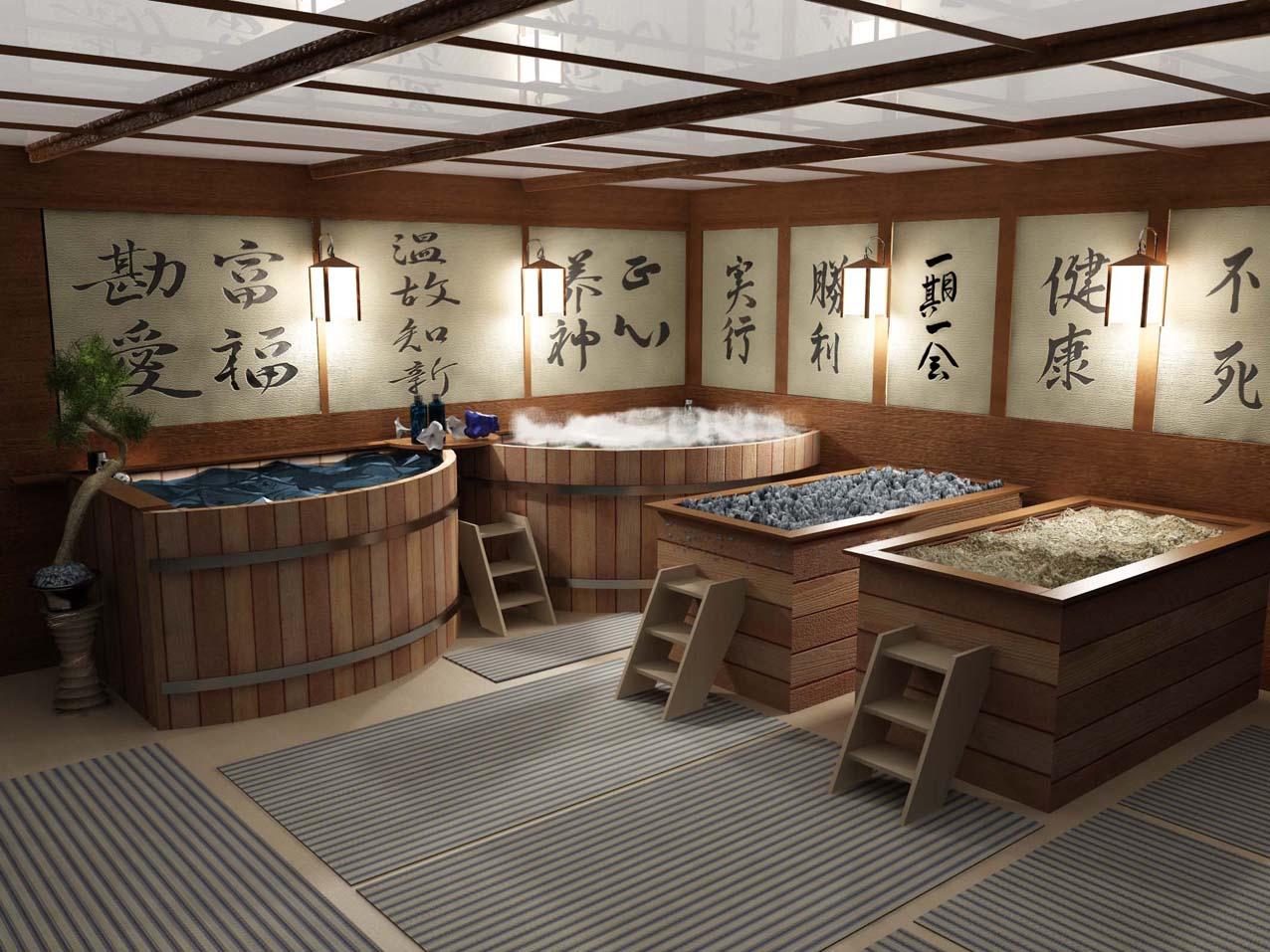Японская баня в собственном дворе или на даче