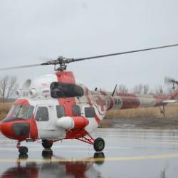 Ребенка с внутренним кровотечением экстренно отправили в Казань из Челнов на вертолете (ВИДЕО)
