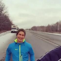 Что заставило мужчину добежать от Нижнекамска до Челнов за пять часов