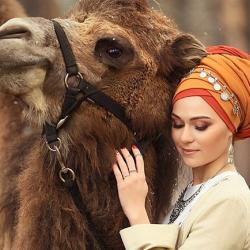 Никах в восточном стиле с верблюдом устроили молодожены в Татарстане (ФОТО)