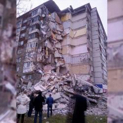 В Ижевске обрушился жилой дом с первого по девятый этажи (ВИДЕО)