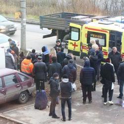 Громкое ДТП в Казани: трех человек сбили на остановке (ФОТО)
