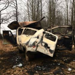 В Татарстане взорвался автомобиль с рыбаками