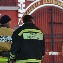 В Казани произошел пожар на территории Порохового завода