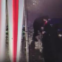 Житель Казани спешил на встречу и угнал из заправки автомобиль (ВИДЕО)