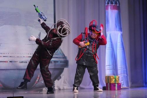 В Доме Дружбы народов прошло новогоднее представление для детей