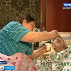 В Татарстане ни муж, ни жена не могут ходить, но по-прежнему готовы ухаживать друг за другом (ВИДЕО)