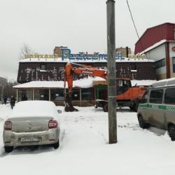 В Казани сносят здание чайханы «Регистан» (ВИДЕО)