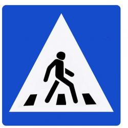 В России хотят уменьшить размер дорожных знаков