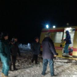 На Каме в Челнах оторвалась льдина с 5 рыбаками, пока спасен лишь один