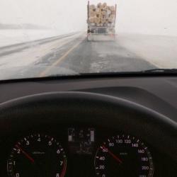 Автомобилисты советуют челнинцам воздержаться от поездок в Казань