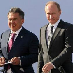 Путин встретится с Миннихановым