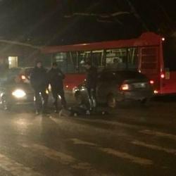 В смертельном ДТП в Казани водитель «Форда» разбил девушке голову