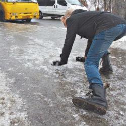 Ледниковый период в Казани: где самые скользкие улицы?