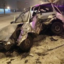 Жуткое ДТП в Татарстане: столкнулись «ВАЗ-2114» и «Porsche Cayenne» (ФОТО)