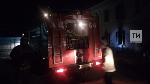 Появились ФОТО пожара в Лениногорске