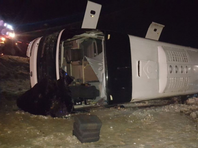 В ДТП с автобусом в Ростовской области погибли четыре человека (ФОТО)