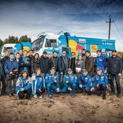 Команда «КАМАЗ-Мастер» отказалась от участия в ралли Africa Eco Race