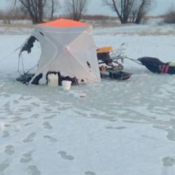 На реке Кама в Татарстане два рыбака сгорели в палатке (ВИДЕО)
