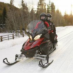 Парень и девушка на снегоходе потерялись в Татарстане