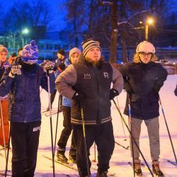 Объединились против зла: нижнекамцы вышли на лыжню в память убитой Гульшат Котенковой (ФОТО)
